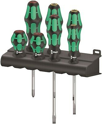 Wera 300/7 Mix 1 Kraftform Plus Screwdriver Set 7 Piece 05008900001