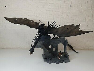 Lord Of The Rings Play Along Battle Scene Osgoliath Ruins Nazgul Ringwraith