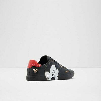 Disney X Aldo Cool-Mickey Mouse Sneakers New in box Size 10.5 Black FREE SHIP