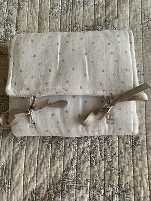 The Little White Company Baby Cotton Changing Mat Excellent Condition