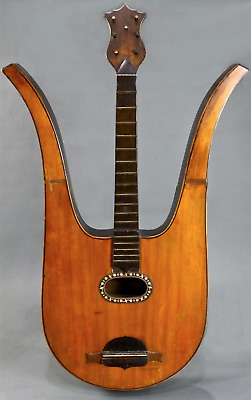 ALESSANDRO RADRIZZANI LYRE GUITAR 1827 vintage antique harp acoustic classical