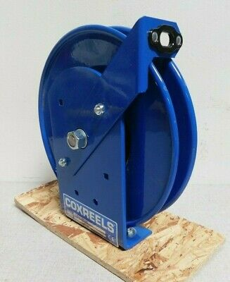 COXREELS SDHL-200  Retractable Grounding Wire Reel Blue Cable Coated
