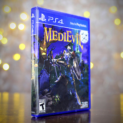 MediEvil (PS4 / PlayStation 4) - New/Sealed/Disinfected