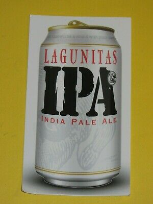LAGUNITAS IPA BREWING CO BREWERY Real Ale Craft Beer Sticker Decal California