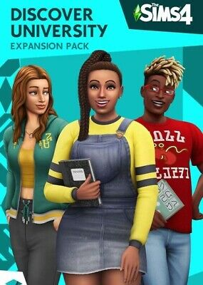 Sims 4: Discover University Expansion Pack (PC, Origin Activation Code)