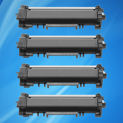 4 PK TN760 with chip toner For Brother DCP-L2550DW HL-L2350DW L2370DW MFC-L2710