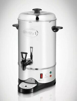 Swan 10 Litre Hot Water Urn Coffee Boiler Commercial Catering