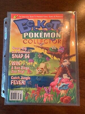 Beckett Pokemon Collector 1St Issue Vol 1 Number 2 October 1999 Rare Mint