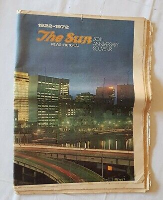 The Sun, 50th Anniversary Edition, September 5th, 1922-1972 Newspaper