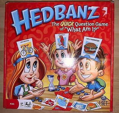 Hedbanz Game Guessing Card Board Kids Childrens Toy Charades Play Educational