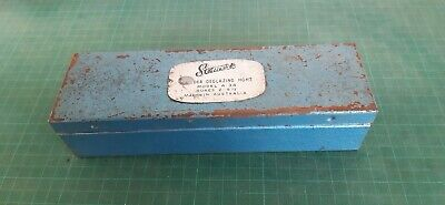 Vintage tool, Deglazing kit in tin,  For honing car cylinders SOMERS Australia