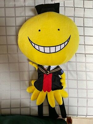 Assassination Classroom Backpack Bag Koro Sensei Plush