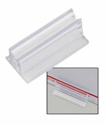 Sign Holder with Adhesive Back - Pack of 20