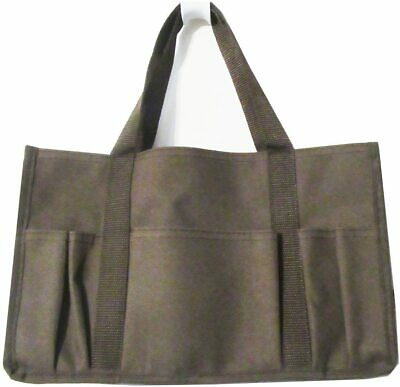 Thirty-one Utility Organizer mini tote hand bag keep it caddy in Brown