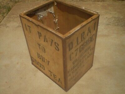 indian tea chest shipping container