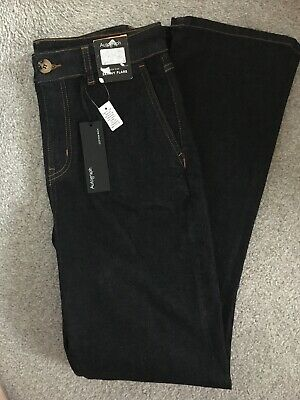 AUTOGRAPH MARKS & SPENCER SKINNY FLARE JEANS, Size 10 Long, Bnwt