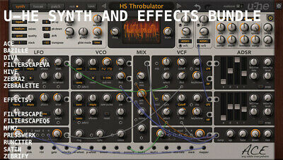 NEW u-he VST Synth & Effects Bundle | Mac OS X & Windows | Instant Delivery 💨