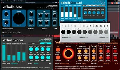 Valhalla Reverb & Delay Plugin Bundle for Windows and Mac | Instant Delivery 💨
