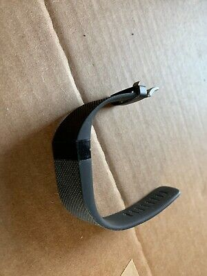 Fitbit Charge HR Wireless HEART RATE Activity Wristband Sm Black No Charge Cord