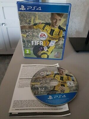 Playstation 4 Ps4 Four Game . Fifa 17 . FREE POSTAGE