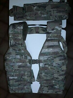 Platatac Multicam Jungle Chest Rig Vest ITW Nexus As New Unused
