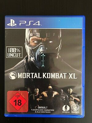 Mortal Kombat XL (Sony PlayStation 4, 2016)