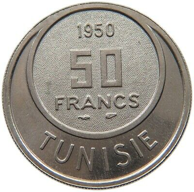 TUNISIA 50 FRANCS 1950 ESSAI TOP #t113 171