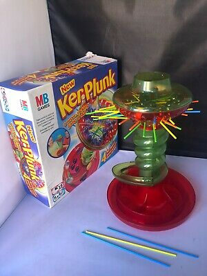 Vintage Hasbro Kerplunk Family Toy Marble Strategy Board Game Retro 2004