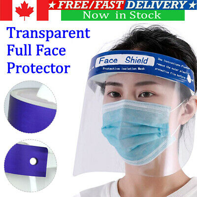 1/2/5/10x Full Face Covering Anti-Fog Shield Clear Glasses Face Protect Tooling