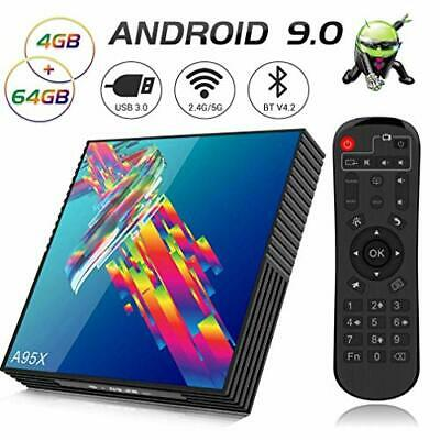 A95X R3 Android 9.0 TV Box, 【4GB RAM 64GB ROM】 Smart TV Box with (4G+64G)