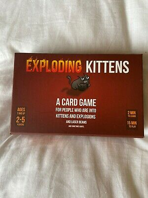 EXPLODING KITTENS Card Game 2-5 Players - First Edition