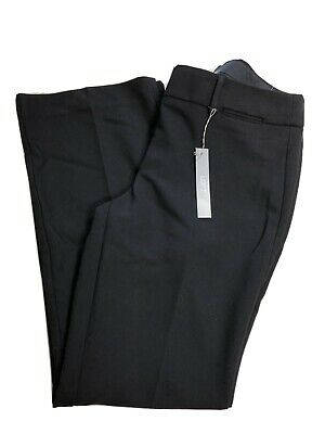 "Ann Taylor Loft Julie Trouser. New. Black Size 8. Inseam 32"". NWT"