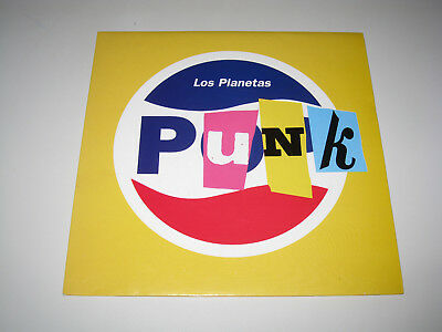 Los Planetas Punk 90´S Spanish Pop Original Issue Ep 7""