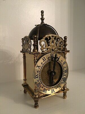 Vintage Smiths lantern Clock C.1950s Converted From Electric To Quartz