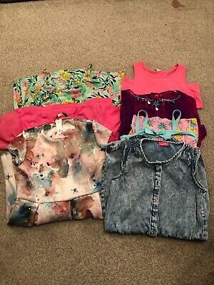 Girls bundle Age 9 - 10 years Summer (7 items) Dress/ play-suit Next