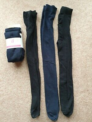 BNIP Navy Blue School Tights Age 6-8 Years