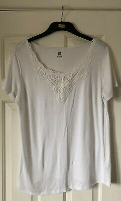 White maternity tpp siize large by H&M