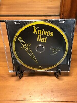 Knives Out Blu-ray Disc + Jewel Case ONLY Like New / No 4K UHD Disc or Digital