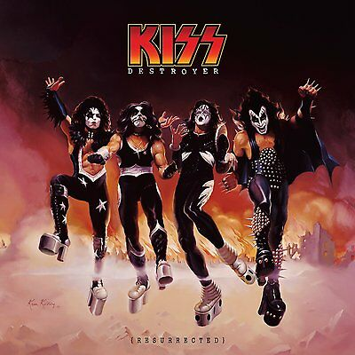 "KISS Destroyer Resurrected Album Cover  24 x 24"" Poster"