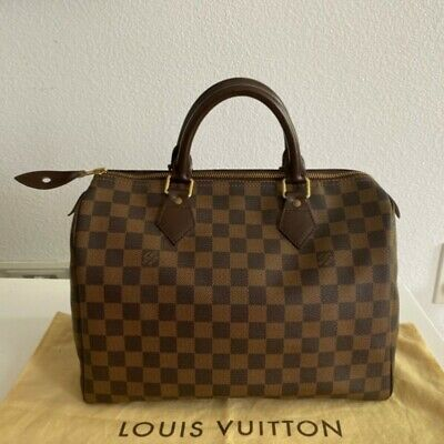 Louis Vuitton Speedy 30 Damier 100% Authentic made in France