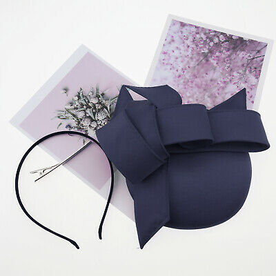 Blue Stylish Graceful Artistic Fascinator Hat Headband Hair Clip for Friends