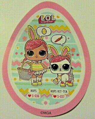 LOL Surprise doll new SPRING BLING SET HOPS & hopkit-tea set  RARE !!  EASTER !!