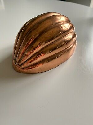 Antique Copper Jelly Mould/Food Mold