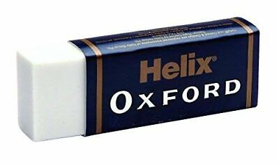 Helix Oxford Pencil Erasers Rubber Large Size School Art Draw- Plus 1 Free
