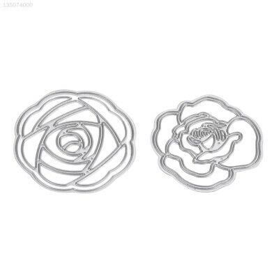 5721 Durable 2pcs/Lot Cutting Dies Embossing Stencils DIY Flower School Home