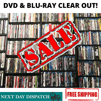 DVD & Blu-ray Clear Out!