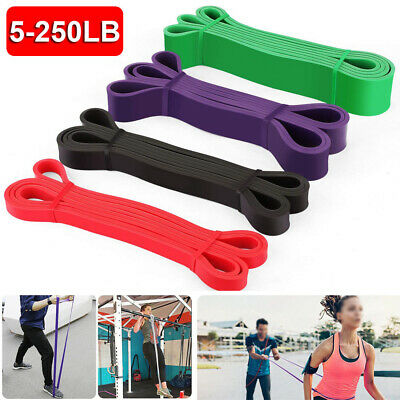 Gym Latex Exercise Resistance Bands Assist Elastic Band Pull Up Loop Fitness Set