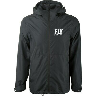 Fly Racing MX Pit Paddock Casual Jacket (Black)