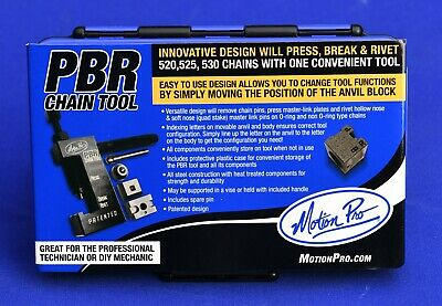 Motion Pro PBR Motorcycle Chain Breaker Press Riveting Tool Kit 08-0470