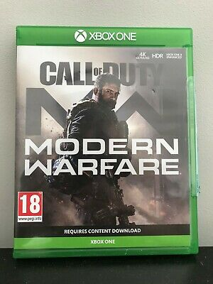Call of Duty: Modern Warfare (Xbox One, 2019) perfect condition - RRP£60